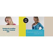 Darčekové poukážky - Darčeková poukážka na nákup - 4854281_