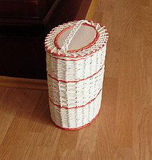 Košíky - Košík na vlnu na pletenie - 4856737_