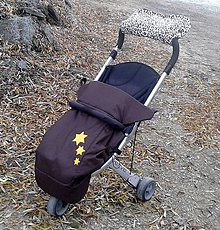 Detské súpravy - Nánožník s hviezdičkami - 4859102_