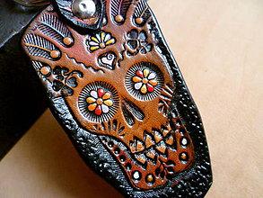Kľúčenky - kožený prívesok na kľúče- S&l - 4857762_