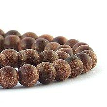 Minerály - Gold sandstone 6 mm - 4857822_