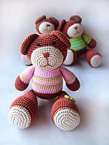 Hračky - Macíček curkíček - 4860134_