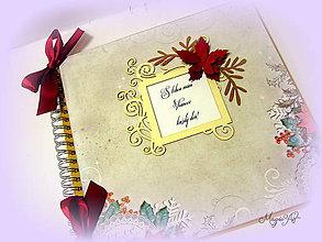 Papiernictvo - Vianočná elegancia SKLADOM - 4857585_