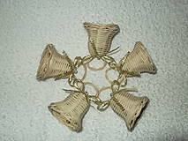Dekorácie - sada minizvončekov - 4859377_