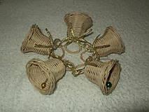 Dekorácie - sada minizvončekov - 4859378_