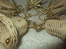 Dekorácie - sada minizvončekov - 4859379_