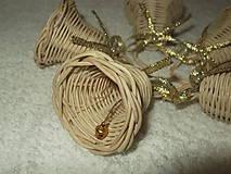 Dekorácie - sada minizvončekov - 4859380_