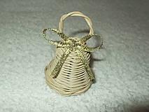 Dekorácie - sada minizvončekov - 4859382_