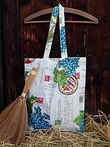 Nákupné tašky - Nákupná taška - hrozno - 4858266_