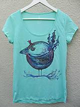 Tričká - Vtáčik letáčik - 4858405_