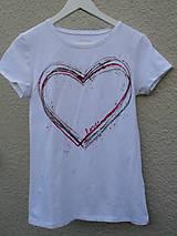 Tričká - Srdce na dlani - 4858558_