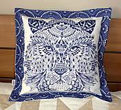 Úžitkový textil - Návliečka na vankúš - Bengálsky tiger. - 4857893_