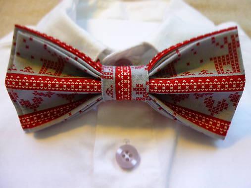 ad64204940 Pánsky motýlik - vianočný   HuRu - SAShE.sk - Handmade Doplnky