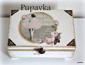 Krabičky - Balerína - 4865991_