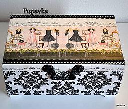 Krabičky - Luxusná šperkovnica - 4866016_