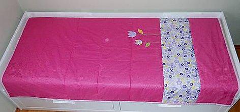 Úžitkový textil - Prehoz-prikrývka Slávik - 4872859_