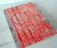 Papiernictvo - Retro red receptárik - 4870913_