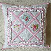 Úžitkový textil - ♥ v ružovom - 4871847_
