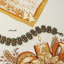 Náramky - Korálkový náramok Stonožka - 4876227_