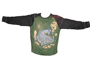 Oblečenie - tričko 3XL pre rybára - 4876503_