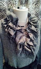 Kabáty - Volánový kabát - 4877399_