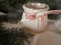 Svietidlá a sviečky - Vianočné svetielko uzimené - 4876502_