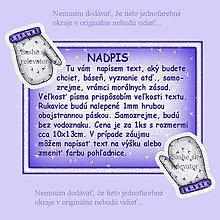 Papiernictvo - Vianočná pohľadnica s rukavicami - modrá - 4876612_