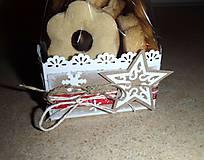Vianoce - Darčeková krabička na medovníčky - 4877570_