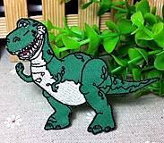 Nažehlovačka / nášivka dinosaurus