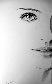 Kresby - Portrét - Minimalizmus - 4881210_