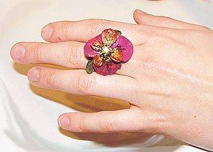 Prstene - kvetinka prsteň - 4882190_