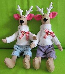 Dekorácie - sobík...aj vianočný... - 4885339_