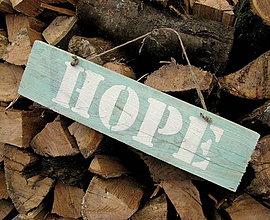 Tabuľky - HOPE - nádej - 4887037_
