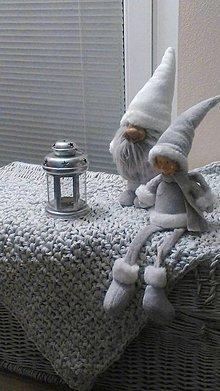 Úžitkový textil - Malý koberec  (Tyrkysová) - 4887270_