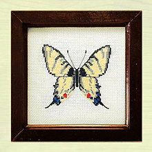 Obrázky - Vyšívané motýle (1) - 4886228_