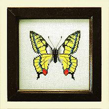 Obrázky - Vyšívané motýle (4) - 4886589_