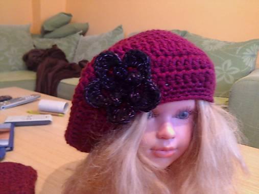 024d8cb27 Hackovana baretka na zimu / maja.curillova - SAShE.sk - Handmade Čiapky