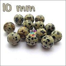 Minerály - (0759) Dalmatín jaspis, 10 mm - 1 ks - 4887551_