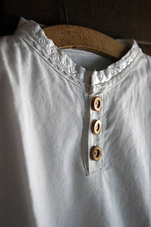 Oblečenie - Pánska krojová košeľa na gombíky - 4890400_