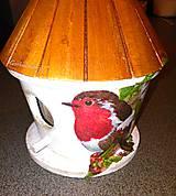 Dekorácie - Vtáčia búdka - 4890520_