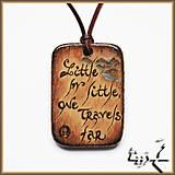 Náhrdelníky - Amulet - Ďaleko cestujem - 4892722_