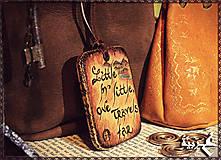 Náhrdelníky - Amulet - Ďaleko cestujem - 4892723_