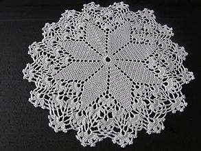"""Úžitkový textil - háčkovaný obrúsok """"Alwaid"""" - 4893711_"""