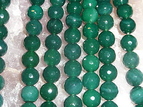 Minerály - Achát fazetovaný 10mm - 11 - 4895259_
