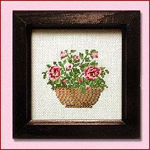 Obrazy - Ružičky NA ZÁKAZKU - 4894151_