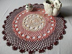 Úžitkový textil - Pohľadenie duše II- obrus - 4895843_
