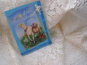 Papiernictvo - Veľkonočný pozdrav - ovečka - 4895624_