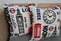 SKLADOM - obliečka s motívom LONDON 2