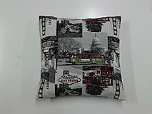 Úžitkový textil - Vankúš Vegas - 4898267_