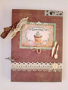 Papiernictvo - receptár zo starého domu - 4898612_